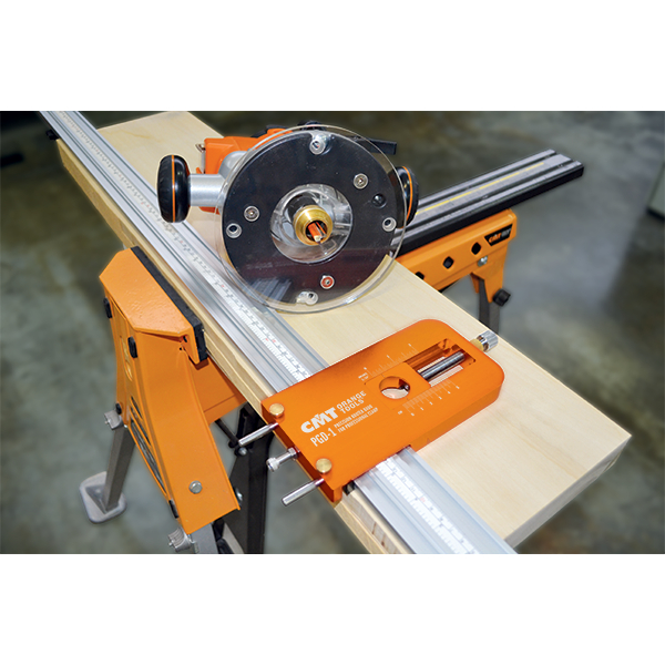 Adjustable Precision Router Dado Jig Woodworking Tools