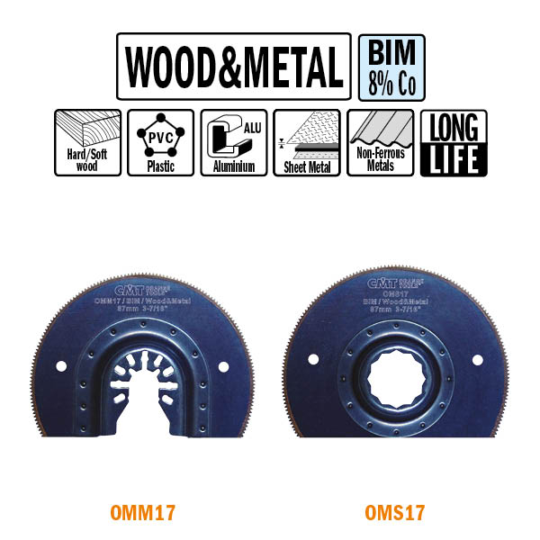 87mm Radial Saw blade for Wood and Metal