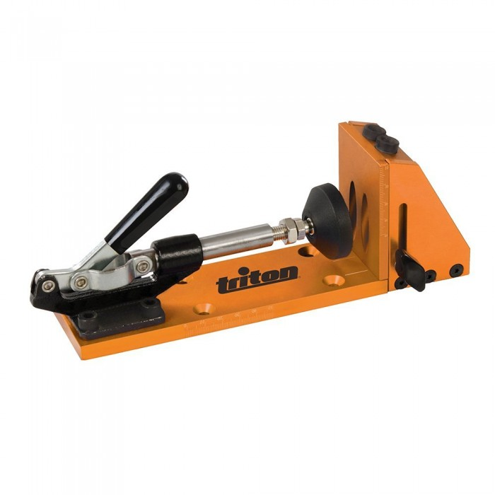 Triton Clamping Pocket-Hole Jig 8pce | woodworking tools online shop