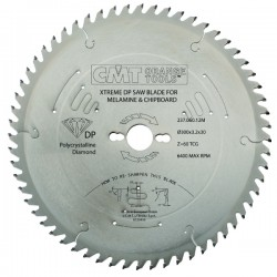 XTreme diamond laminated and chipboard saw blades