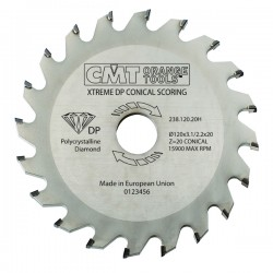 XTreme diamond conical scoring blades