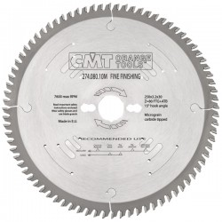 XTreme fine finishing saw blades