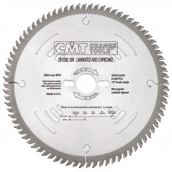 Industrial laminated and chipboard saw blades