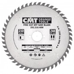 Fine cut-off saw blades, for portable machines