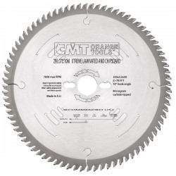 XTreme long-lasting melamine and laminated saw blades