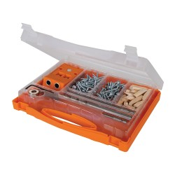 T2 Double Mini Pocket-Hole Jig Set 8pce.