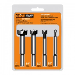 4 piece Forstner bit set
