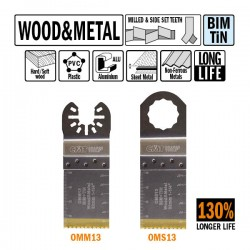 32mm Extra-Long Life Plunge and Flush-Cut for Wood and Metal