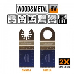 35mm Extra-Long Life Plunge and Flush-Cut for Wood and Metal