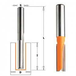 Straight router bits, long series CMT