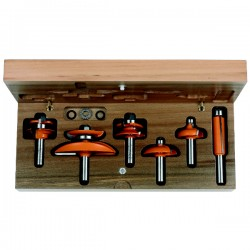 6 CMT piece cabinetmaking sets