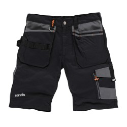 SCruffs Trade Shorts Black